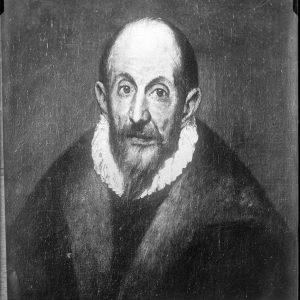 Autorretrato de El Greco_Museo Metropolitano de Nueva York_Foto realizada por Casiano Alguacil hacia 1880