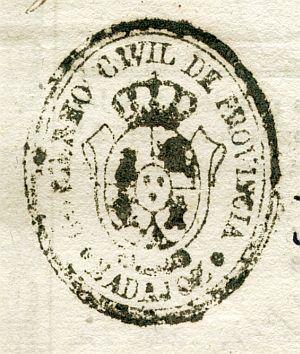 BADAJOZ - Gobierno civil de la provincia de Badajoz - Año 1837