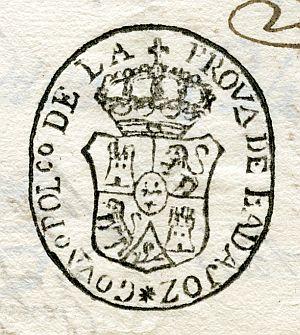 BADAJOZ - Gobierno político de la provincia de Badajoz - Año 1823