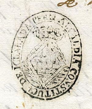 BARCELONA - Alcaldía constitucional de Igualada - Año 1823