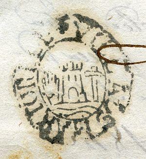 BARCELONA - Ayuntamiento de Martorell - Año 1823