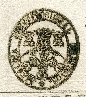 BURGOS - Alcaldía constitucional de Burgos - Año 1837