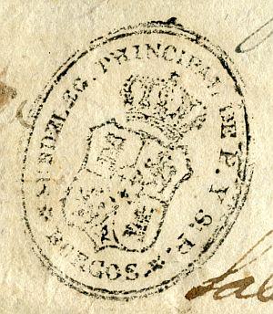 BURGOS - Sudelegación principal de P. y S.P. de Burgos- Año 1839