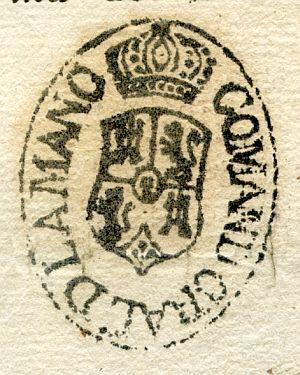 CIUDAD REAL - Comandancia General de La Mancha - Año 1839