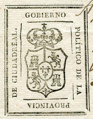 CIUDAD REAL - Gobierno político de la provincia de Ciudad Real - Año 1823