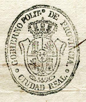CIUDAD REAL - Gobierno político de la provincia de Ciudad Real - Año 1837