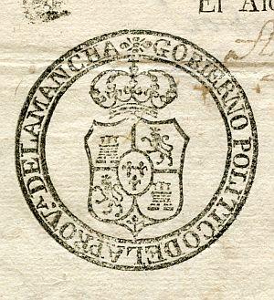 CIUDAD REAL - Gobierno político de la provincia de La Mancha - Año 1821