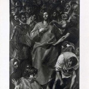 El Expolio_Catedral de Toledo_Foto realizada por Mariano Moreno hacia 1910