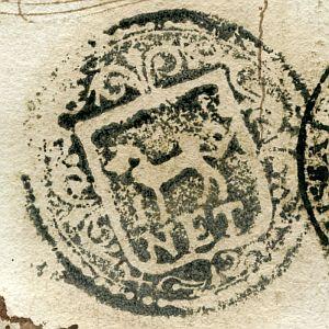 GERONA - Ayuntamiento de Canet - Año 1823