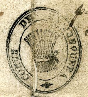 GERONA - Ayuntamiento de La Junquera - Año 1823