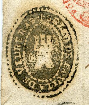 GERONA - Ayuntamiento de Vidreras - Año 1823
