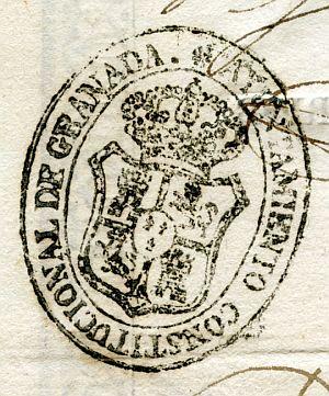 GRANADA - Ayuntamiento constitucional de Granada - Año 1840