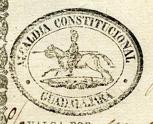 GUADALAJARA - Alcaldía constitucional de Guadalajara - Año 1842