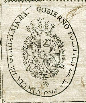GUADALAJARA - Gobierno político de la provincia de Guadalajara - Año 1823
