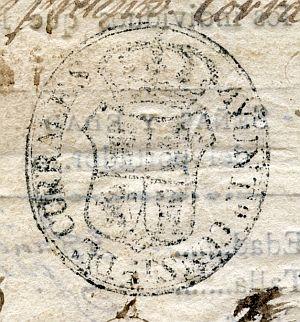 HUELVA - Ayuntamiento de Corrales - Año 1823