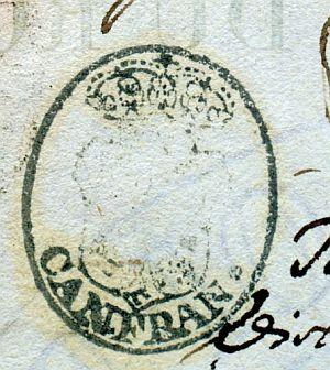 HUESCA - Ayuntamiento de Canfrán - Año 1836