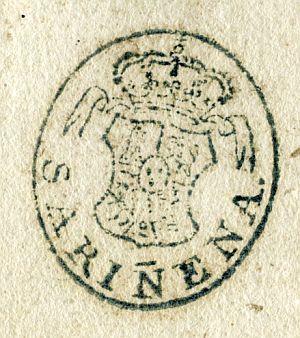 HUESCA - Ayuntamiento de Sariñena - Año 1840
