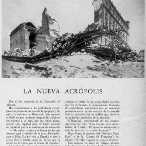 21 - La reconstrucción de Toledo tras la Guerra Civil