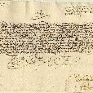 16 - Documentos en escritura cortesana en el Archivo Municipal de Toledo
