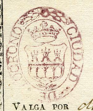 LOGROÑO - Ayuntamiento de Logroño - Año 1839