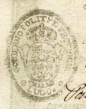LUGO - Gobierno político de la provincia de Lugo - Año 1841