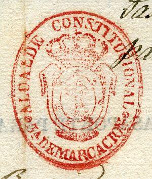 MADRID - Alcalde constitucional de Madrid 3ª demarcación - Año 1839