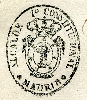 MADRID - Alcalde primero constitucional de Madrid - Año 1837