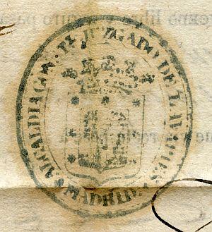 MADRID - Alcaldía constitucional del juzgado de Lavapiés - Año 1842