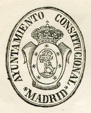 MADRID - Ayuntamiento constitucional de Madrid - Año 1844