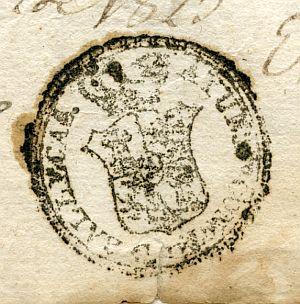 MADRID - Ayuntamiento de Vallecas - Año 1823