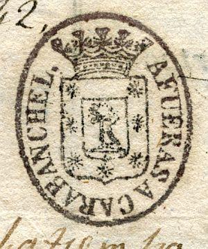 MADRID - Barrio de Afueras Carabanchel - Año 1842