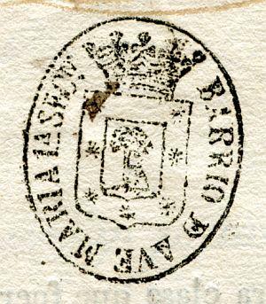 MADRID - Barrio de Ave María primera sección - Año 1837