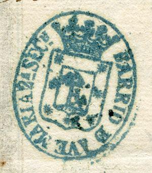 MADRID - Barrio de Ave María segunda sección - Año 1839