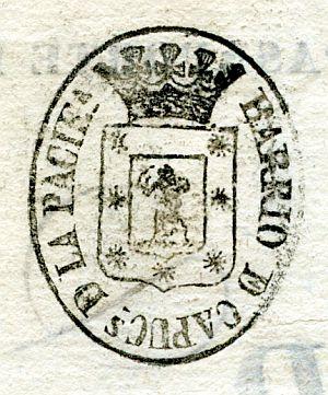 MADRID - Barrio de Capuchinas de la Paciencia - Año 1837