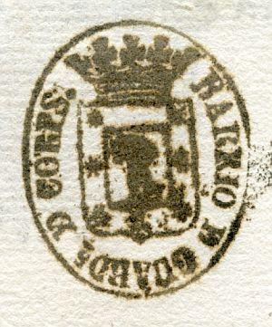 MADRID - Barrio de Guardia de Corps - Año 1840