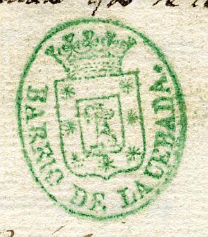MADRID - Barrio de la Cebada - Año 1842 - 2