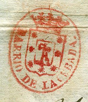 MADRID - Barrio de la Cebada - Año 1842