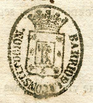MADRID - Barrio de la Constitución - Año 1842