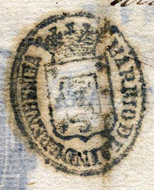 MADRID - Barrio de la Independencia - Año 1843