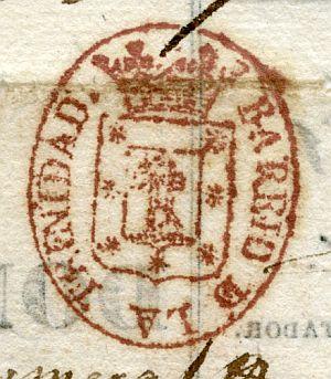 MADRID - Barrio de la Trinidad - Año 1837
