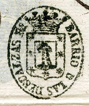 MADRID - Barrio de las Descalzas - Año 1837