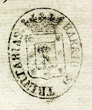 MADRID - Barrio de las Trinitarias - Año 1837