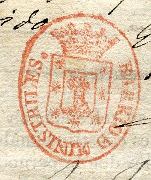 MADRID - Barrio de Ministriles - Año 1842