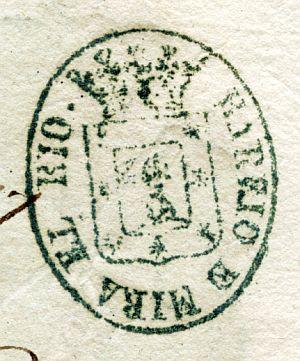 MADRID - Barrio de Mira el Río - Año 1837