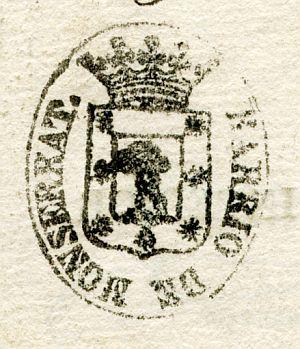 MADRID - Barrio de Monserrat - Año 1840