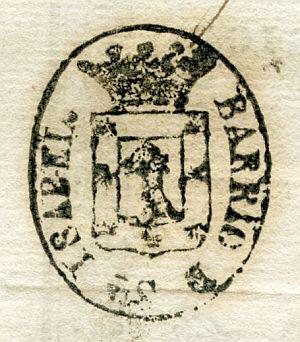 MADRID - Barrio de Santa Isabel - Año 1837
