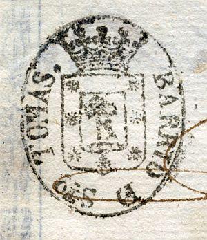 MADRID - Barrio de Santo Tomás - Año 1838