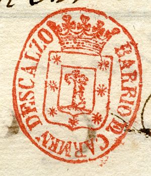 MADRID - Barrio del Carmen Descalzo - Año 1838