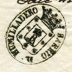 MADRID - Barrio del Humilladero - Año 1837