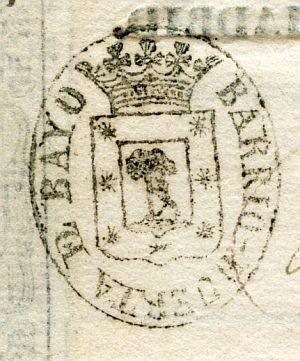 MADRID - Barrio Huerta del Bayo - Año 1837